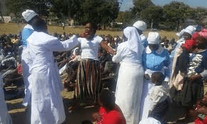 """""""Back to sender prophet"""" Madzibaba Masango in car accident, loses three kids"""