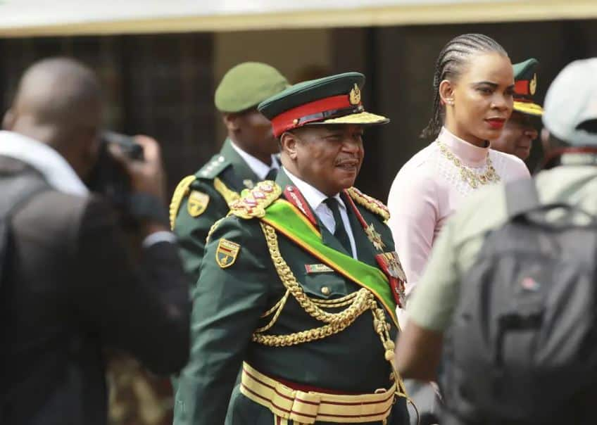 Acting Pres Chiwenga deploys army to prevent wife Marry from accessing kids, clothes, home, vehicles
