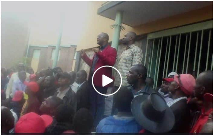 WATCH: Mwonzora Backs Chamisa Presidency..VIDEO