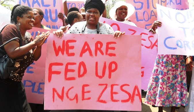 Things fall Apart…ZESA Workers To Go On Strike