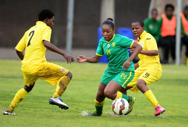 Watch Live Video: Zim Mighty Warriors vs Banyana COSAFA Women Semi Final