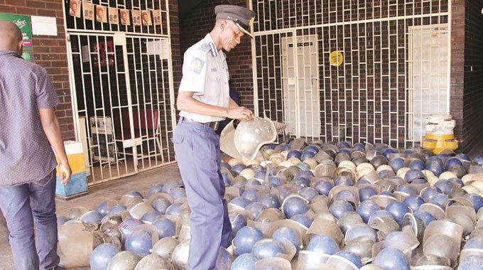 "Army, Police raid MDC HQ after ""discovery"" of riot helmets"