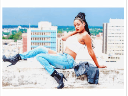 Singer Ti Gonzi caught pants down with nude model Whitney 'Miss Whitney' Masike