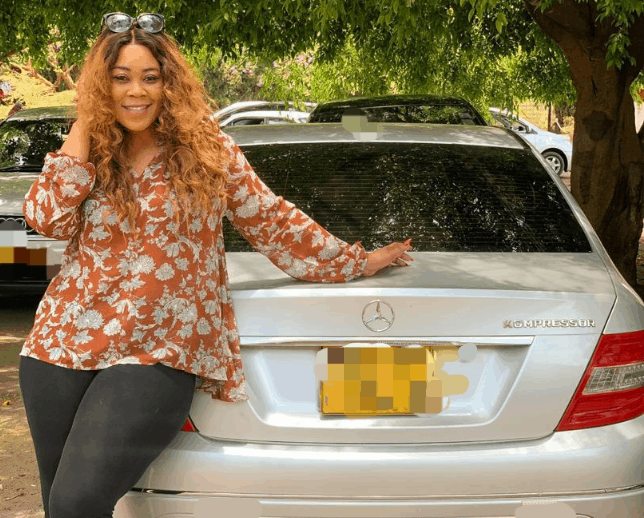 Passion Java BLESSES Madam boss with new car..pictures