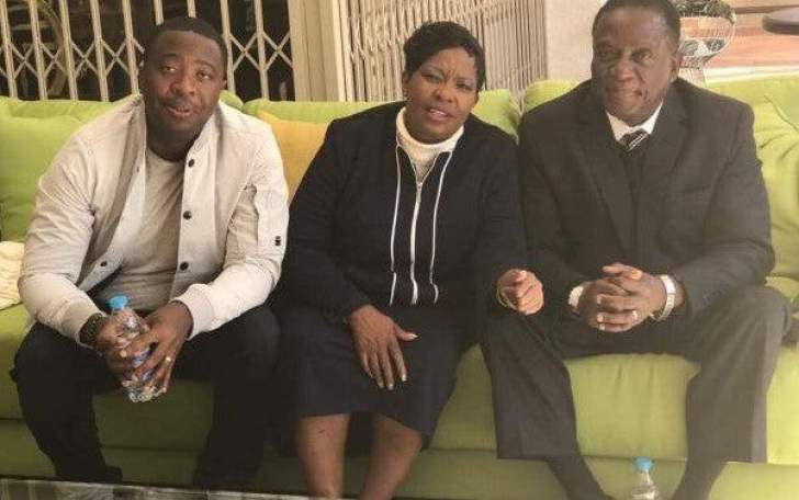 Mnagagwa's wife, son Collins, implicated in Rushwaya gold smuggling scandal