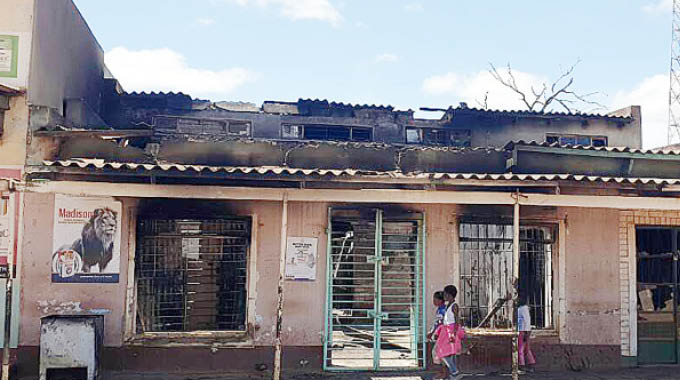 R1M lost at 30-yr-old Gwanda business is gutted by fire