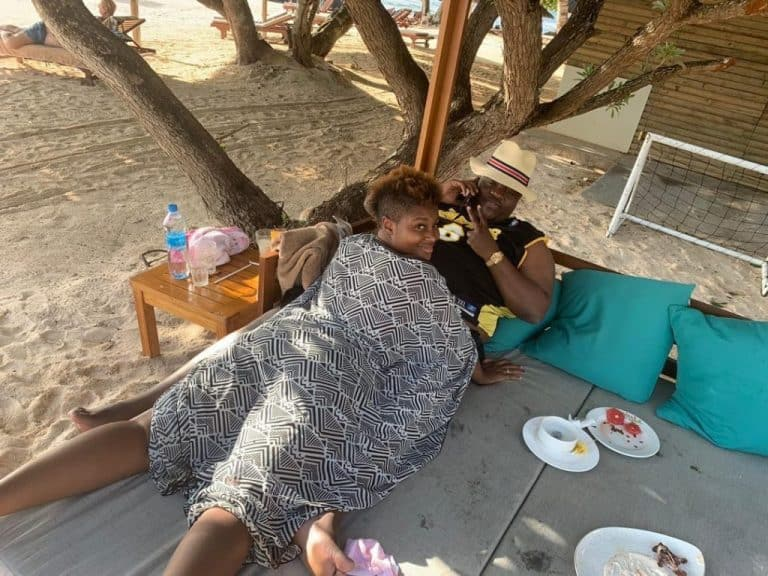 PICTURES: Zim tycoon Wicknell Chivayo, wife holiday pics in Mauritius