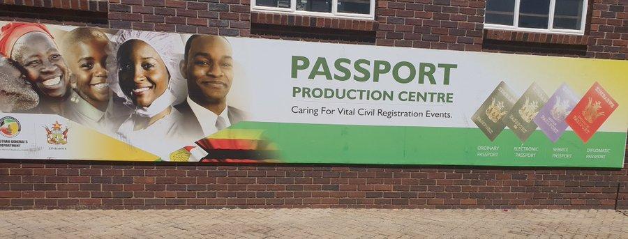 Zimbabwe Government suspends printing of ordinary passports