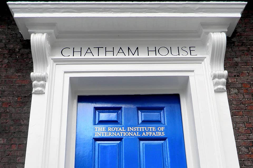 Chatham House to present Report on Targeted Sanctions to Protect Journalists