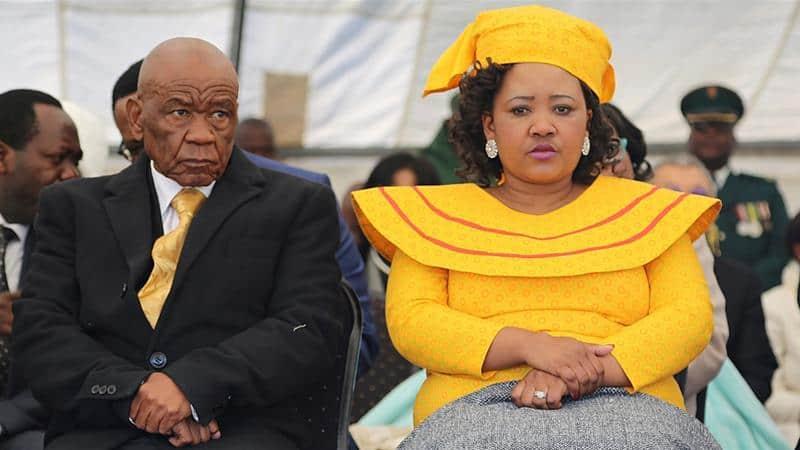 LesothoFirst Lady Maesaiah Thabane arrested for killing PM's Ex-Wife  Lipane Thabane