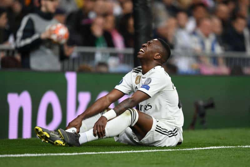 Disappointed Vinicius Says Referees go against Real Madrid on purpose