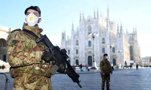 Italy under CoronaVirus lockdown, 60 million people quarantined..Serie A football banned