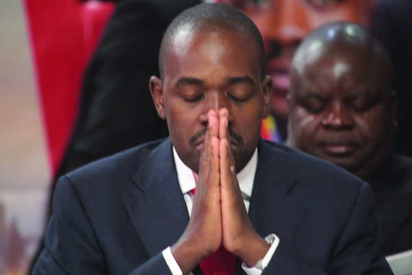 Trouble brewing in Chamisa's MDC