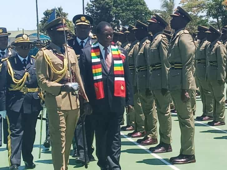 Another Cop in Hot Soup for Saying Mnangagwa Has Failed