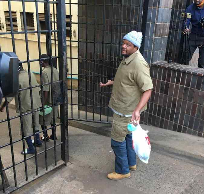 BREAKING NEWS: Hopewell Chin'ono back in court, remanded out of custody