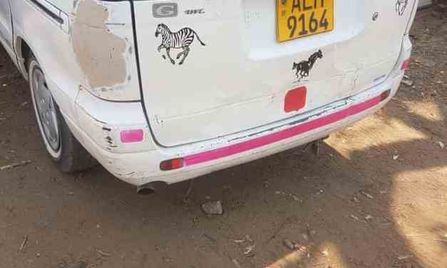 EXPOSED: Police Sergeant's vehicle linked to the abduction of ZINASU president