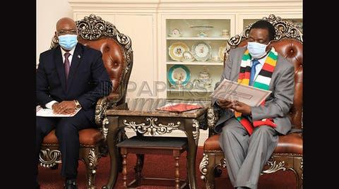 Equatorial Guinea delegation meets Mnangagwa