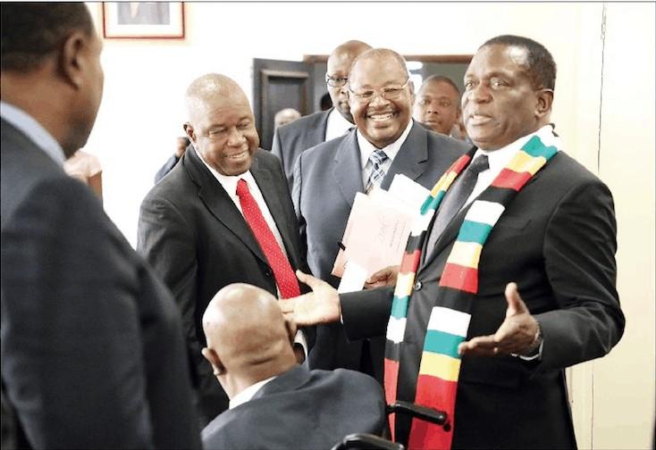 SADC countries should bar international observers during polls, Mnangagwa tells regional bloc's next chairperson