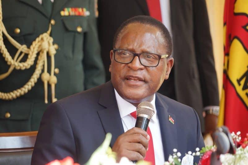 South Africa 'detains' Malawian President Chakwera