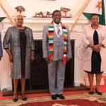 JUST IN: President Mnangagwa meets ambassador-designates