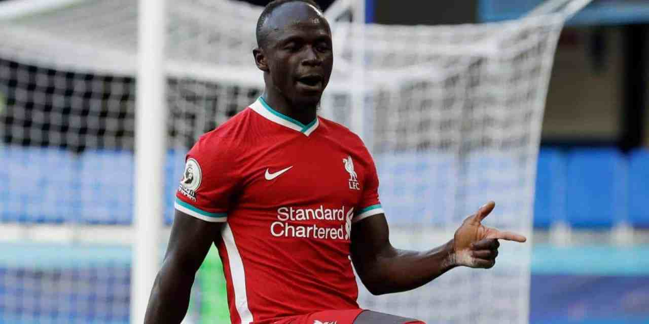 Liverpool star Sadio Mane tests positive for Covid19