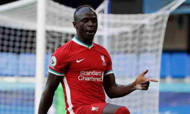 Liverpool star Sadio Mane tests positive for Covid19