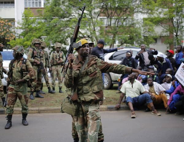 Zimbabwe's security services on high alert- Government