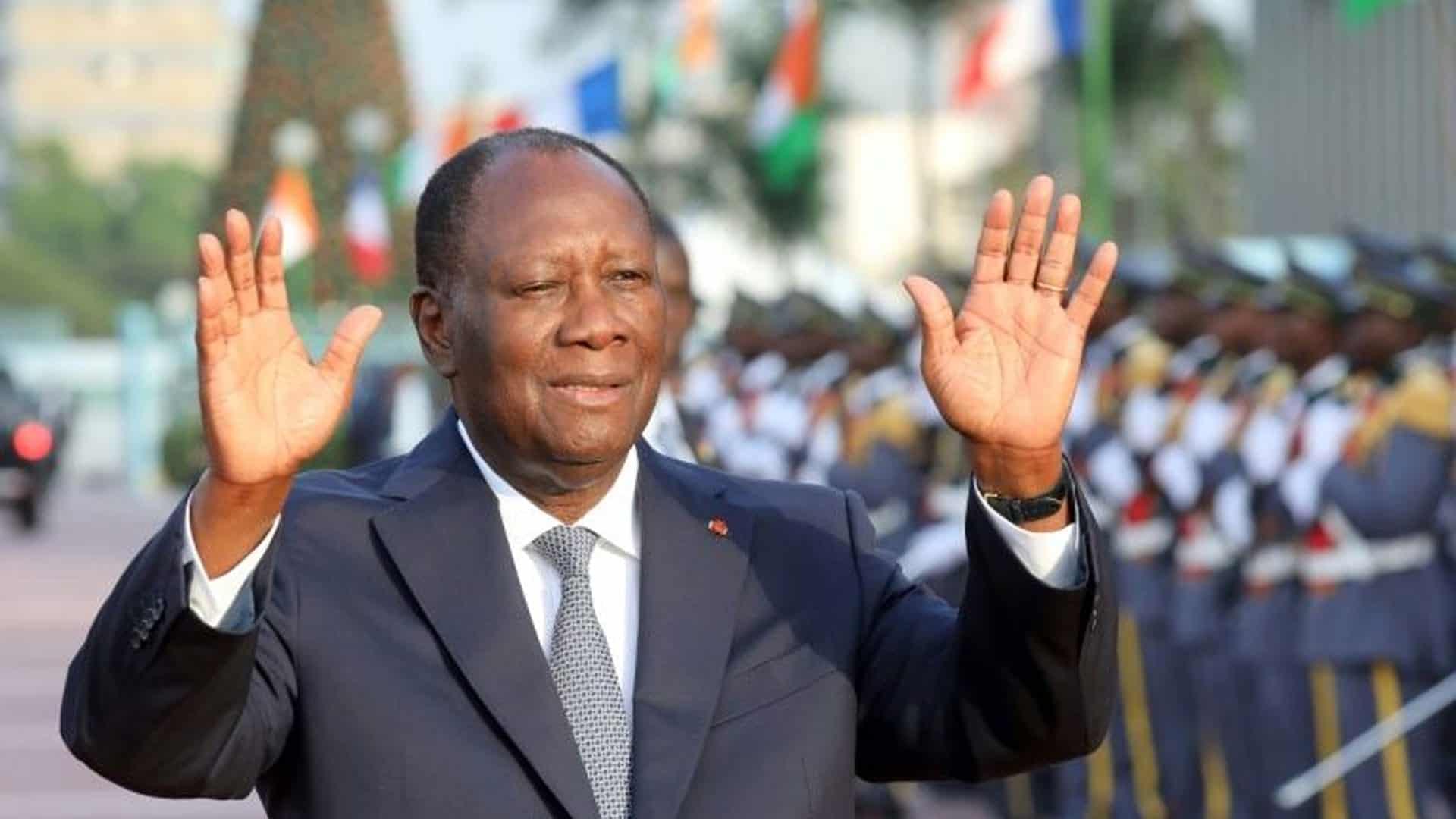 Ivory Coast President Scores Landslide Win, Opposition Cries Foul