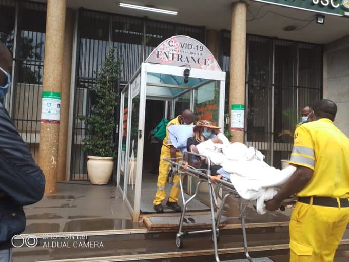 BREAKING NEWS VIDEO: VP Chiwenga's 'wife' taken to court in an ambulance