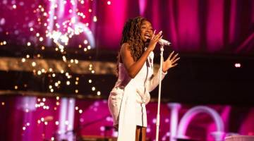 Triumphant Blessing Chitapa's phone now ringing 'every two seconds' after winning The Voice UK