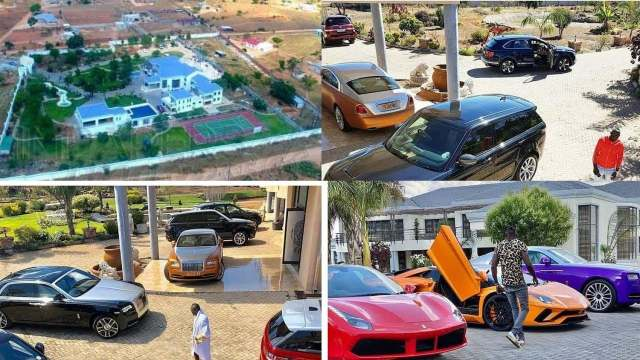Ginimbi's BIG Farewell Party is on: Socialite's massive car collection is global news | ZIM LATEST NEWS | Zwnews Zimbabwe News Updates Today