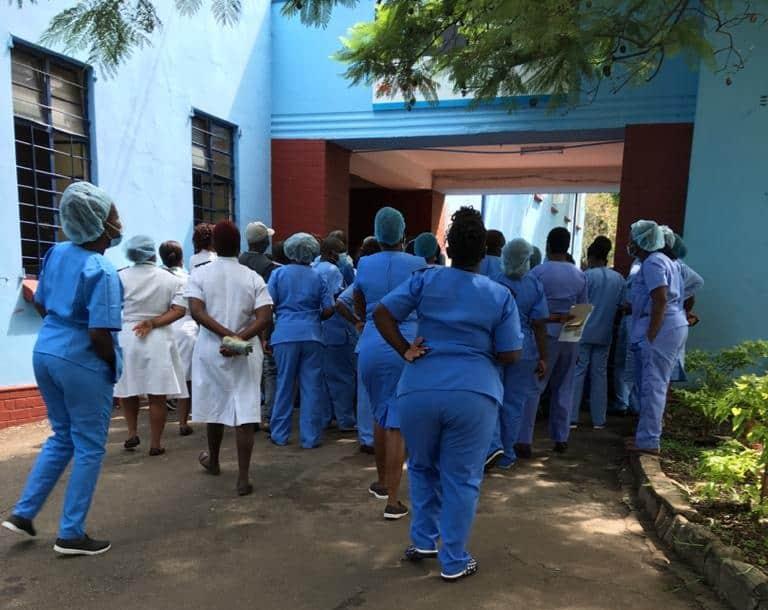 Mpilo Hospital staff covid cases reach 206
