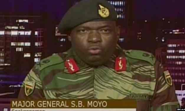 BREAKING NEWS: SB Moyo face of the military coup that toppled Mugabe dies from Covid-19