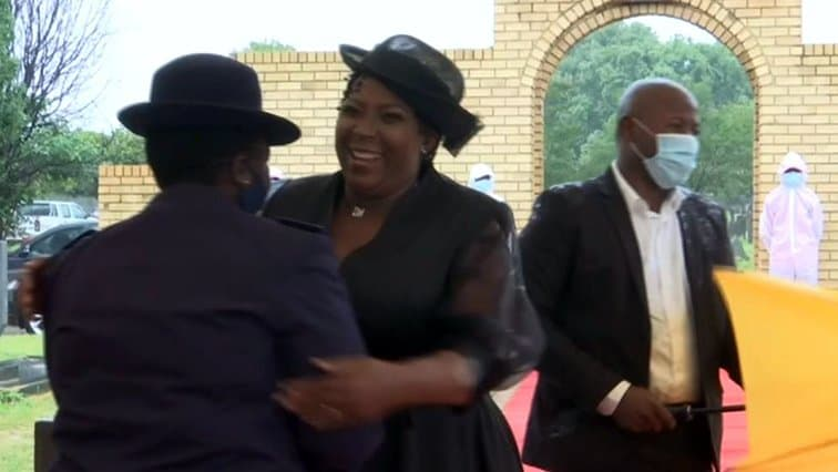 Refilwe Mtsweni-Tsipane fined for not wearing mask at the funeral of Jackson Mthembu