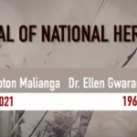 Watch Live Video, Pictures: Ellen Gwaradzimba, Morton Malianga Joint Burial Today-National Heroes Acre-ZBC