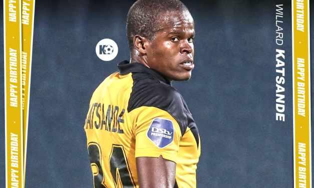 Kaizer Chiefs star Willard Katsande turns 35..Happy Birthday