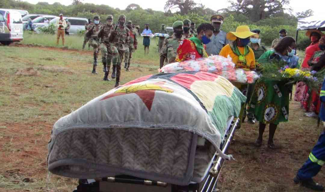 Lisa Singo (47): Liberation heroine, Zanu PF Beitbridge MP buried…PICTURES