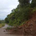 Heavy rains cause rock fall in Kariba, road section blocked