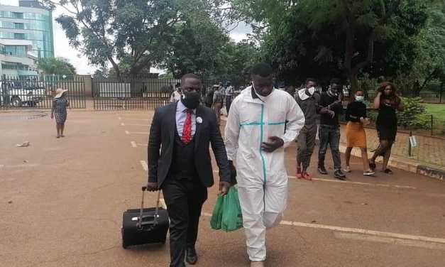 Flash demo at High Court as activists demand Haruzivishe's release…VIDEO…