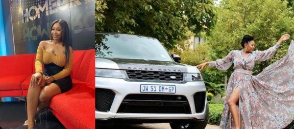 Minnie Dlamini surprises Basetsana Kumalo with a R3 Million Range Rover