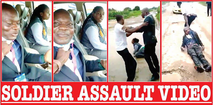 Zim soldier who beats wife, pastor lover in viral video acquires small house..VIDEO, PICTURES