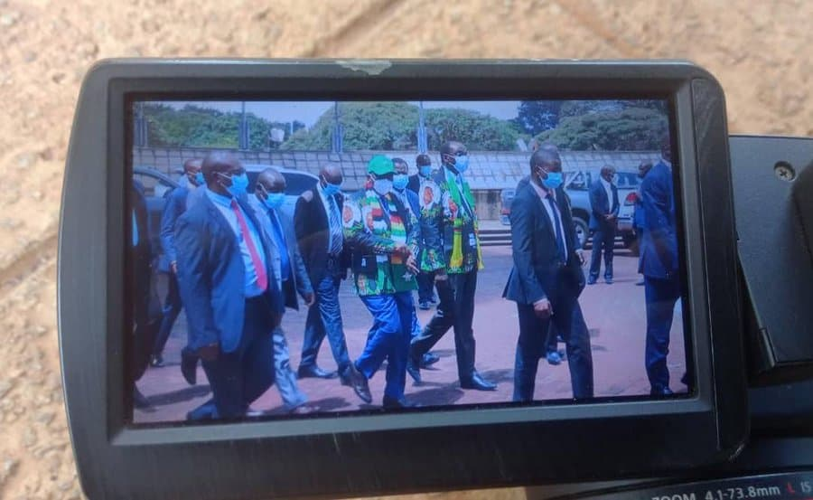 JUST IN: Kembo Mohadi attends ZANU PF Politburo, Mnangagwa to give him a post at HQ, report