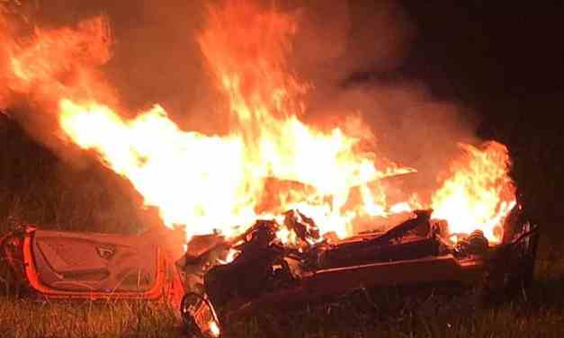 """UPDATED, Ms Shally's Trevor Mbizvo: Ginimbi Manager's Lover """"Hell Commander"""" In Fatal Lamborghini Accident, FIRE PICTURES"""