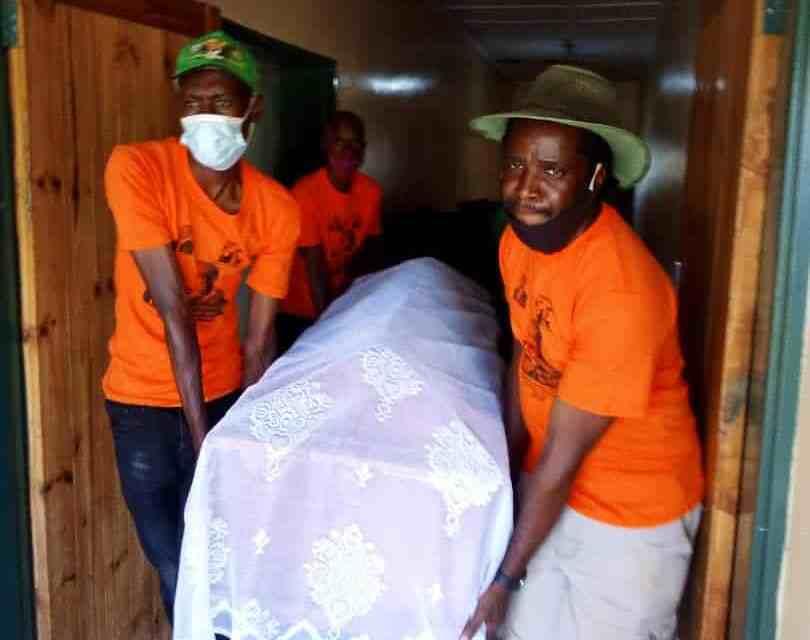 PICTURES: Murdered Drado Manyanga buried
