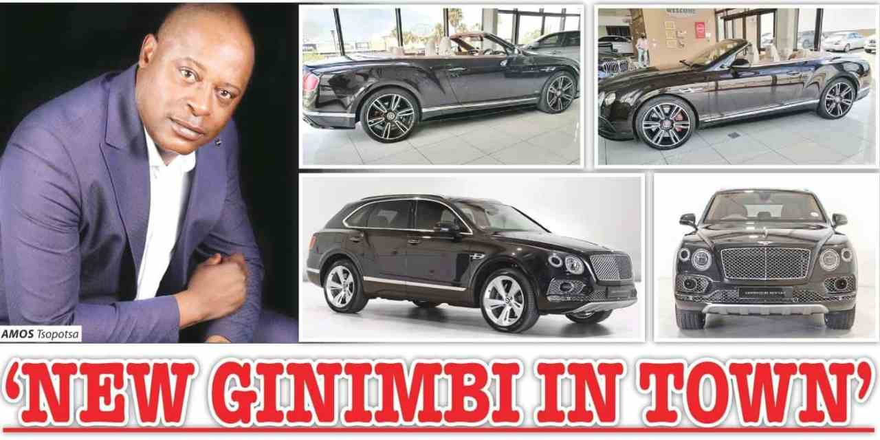 Amos Tsopota, SA based Zim forex trader buys R15.6 million cars..pictures