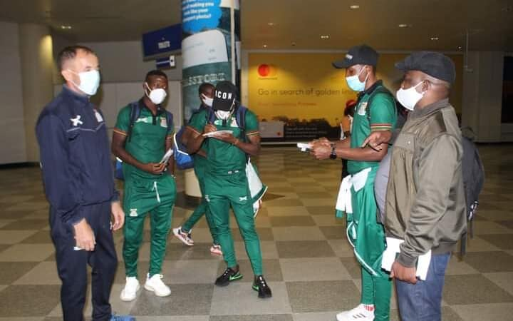 Full strength Zambia Chipolopolo in Harare for Afcon match with Zimbabwe Warriors