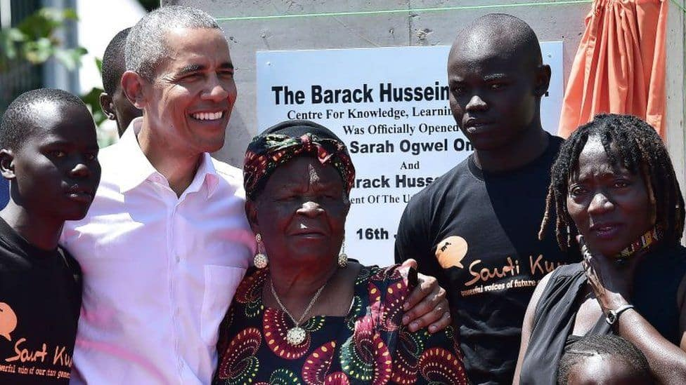 Ex-US President Barack Obama's Kenyan grandmother dies, aged 99