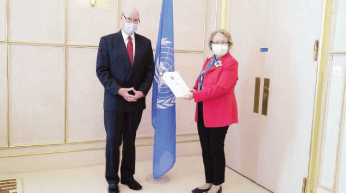 Stuart Comberbach begins UN mission