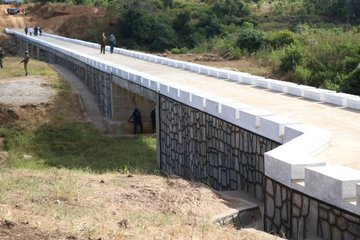 President Mnangagwa dates Mashonaland Central, commissions Karanda Bridge…PICTURES…