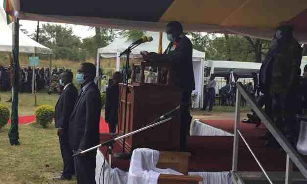 Mnangagwa to refurbish Kwekwe mortuary 'inotonhorera'